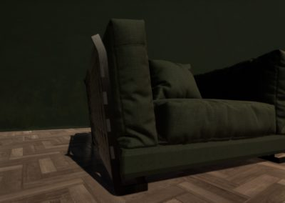 Groene stoel 000